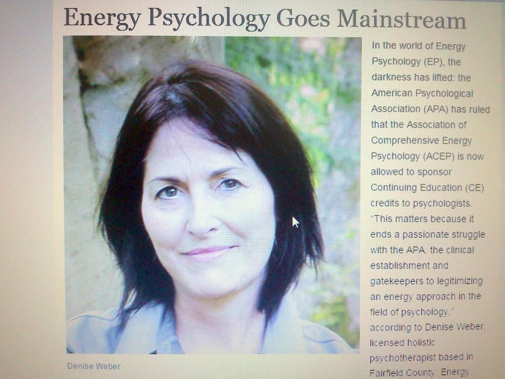 APA признава обучението по енергийна психология на ACEP